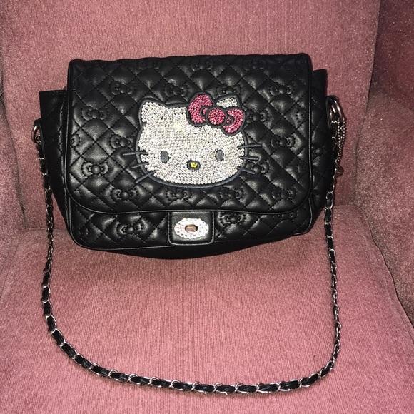 892ae7c926 Rhinestone Hello kitty purse